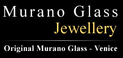 Venice glass factory, production and sale Jewellery in Authentic Murano Glass Made in Italy